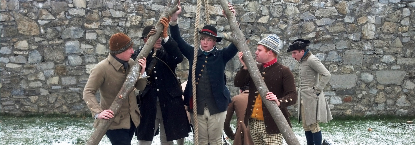 Living History Event: RIOT! Yankees vs. Buckskins